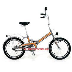 Складной велосипед Azimut 20 2009-1 Фара серый