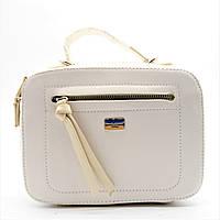 Женская сумочка DAVID DJONES белого цвета LLP-100039 (реплика), фото 1