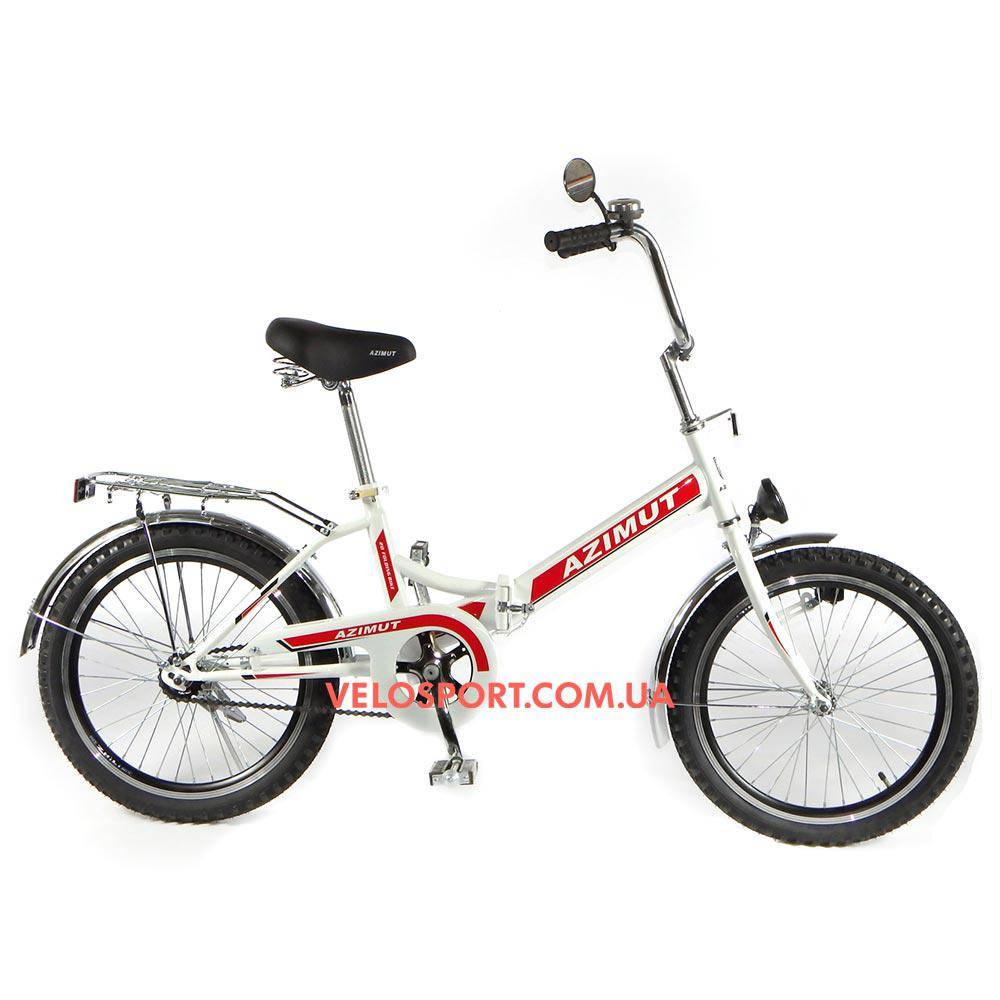Складной велосипед Azimut 20 2009-1 Фара белый