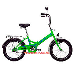 Складной велосипед Azimut 20 2009-1 Фара салатовый