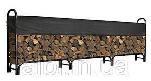 Дровница разборная для запаса дров с тройным основанием