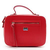 Женская сумочка DAVID DJONES красного цвета LLP-100520 (реплика), фото 1