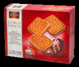 Печенье бисквитное Cubus choco с шоколадным кремом Австрия 180г
