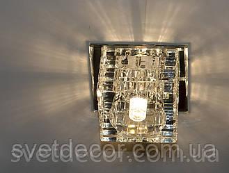Точечный светильник Feron JD106 прозрачный