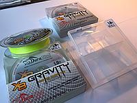 Плетений шнур DuraKing Gravity X8 Braid 150 м #1,2 (0.16 мм/11.3 кг) Fluo Yellow