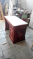 Письменный стол из массива дерева, фото 3