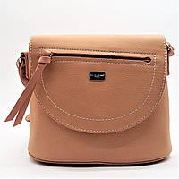 Стильная женская сумочка на плечо DAVID DJONES розового цвета EEM-924911 (реплика), фото 1