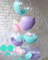 Прозрачный шар с краской