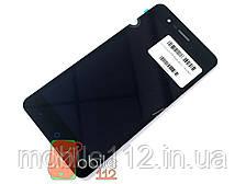 Модуль для ZTE blade A510 Дисплей + тачскрин черный оригинал PRC