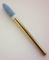 Шлифовальная насадка - пуля 4 мм, Материал - карбид кремния. Абразивная шарошка