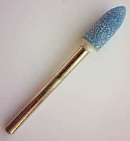 Шлифовальная насадка - пуля 5 мм, Материал - карбид кремния. Абразивная шарошка