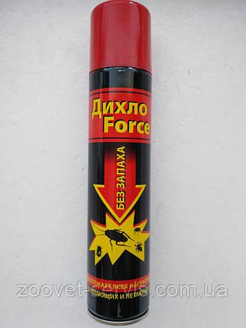 Аэрозоль без запаха для уничтожения насекомых Дихло Forсse 200 мл, фото 2