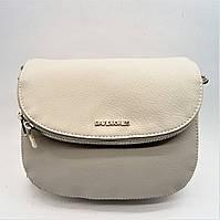 Женская полукруглая сумочка светло-серого цвета XRK-976222, фото 1