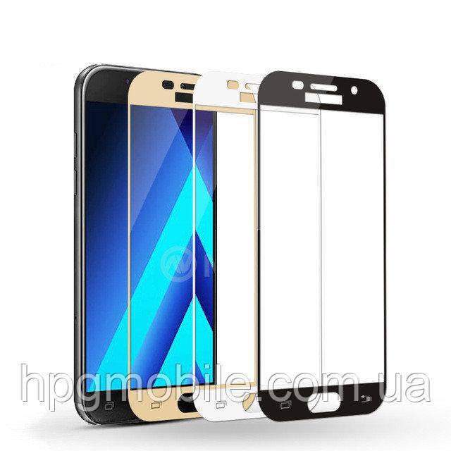 Защитное стекло 3D для Samsung Galaxy J3 (2017) J330 - HPG 3D Tempered glass 0.3 mm