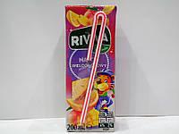 Детский cоковый напиток Riviva (мультифруктовый), 200мл