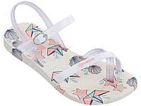 Детские летние босоножки Ipanema Fashion Sandal V Kids Beige/White 82292-21010