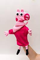 Кукла варежка Пеппа, фото 1