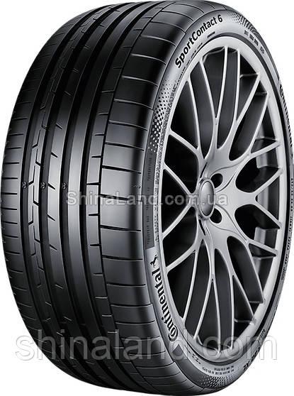 Летние шины Continental ContiSportContact 6 285/30 R22 101Y XL FR