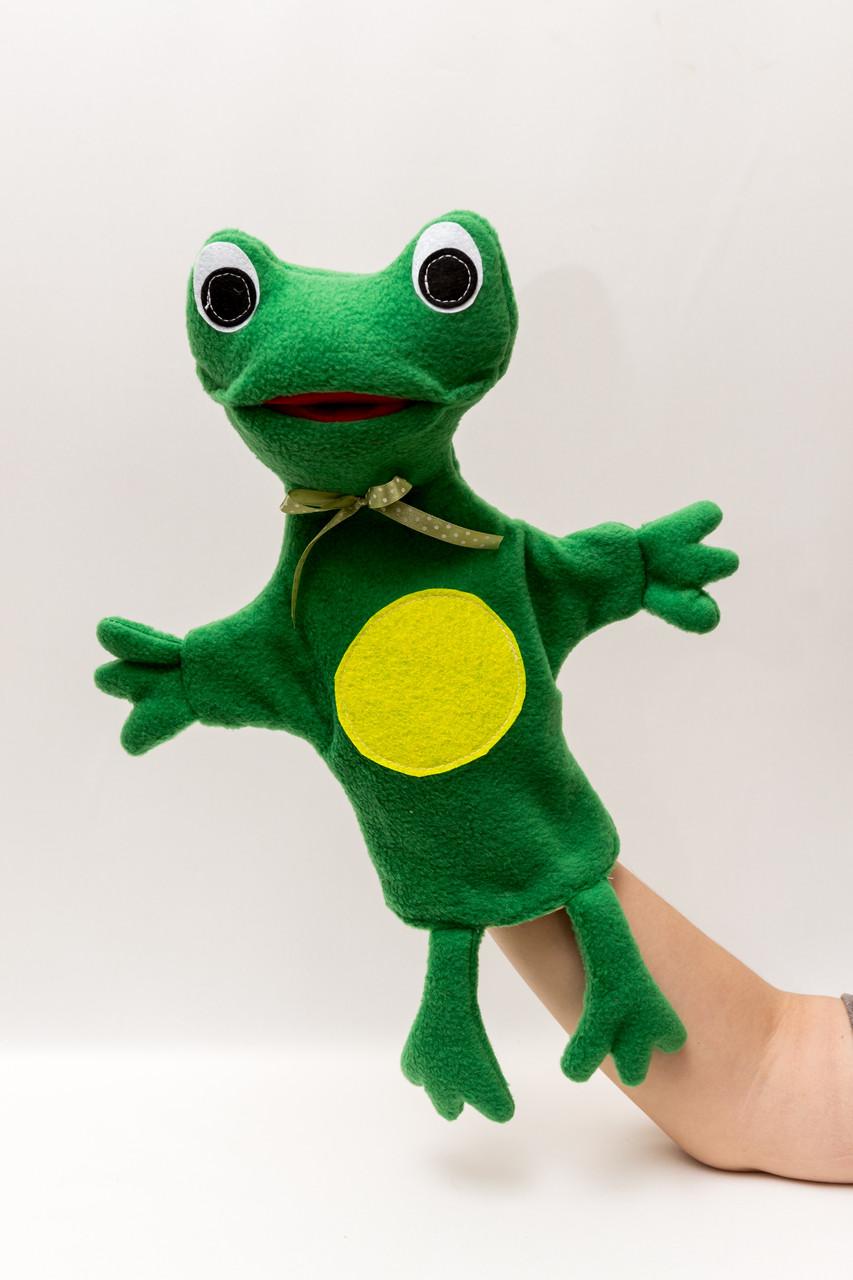 Кукла перчатка Лягушка большая