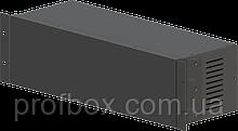 Корпус металевий Rack 3U, модель MB-3160vSP (Ш483(432) Г162 В132) чорний, RAL9005(Black textured)