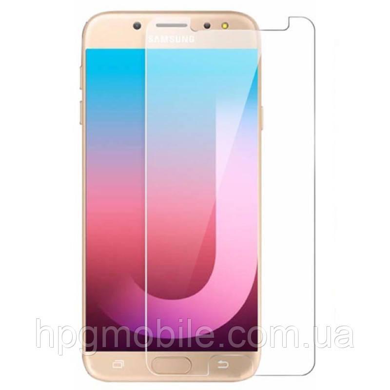 Защитное стекло для Samsung Galaxy J7 (2017) J730 - 2.5D, 9H, 0.26 мм
