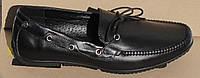 Мокасинымужские кожаные, кожаная обувь мужская от производителя модель ОЛМ10-2, фото 1