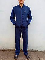 Костюм спортивный мужской NIKE демисезон  темный джинс
