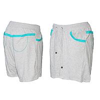 Женские трикотажные шорты (БОЛЬШИЕ РАЗМЕРЫ) R60-5 оптом недорого со склада в Одессе.