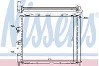 Радиатор охлаждения RENAULT CLIO II/ KANGOO I (98-) (пр-во Nissens)