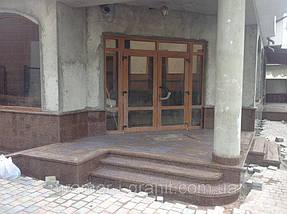 "Облицовка фасада. Гранит ""Межеричка"" 4"