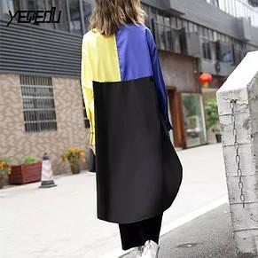 Женская рубашка удлиненная, фото 2