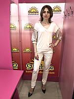 Женский трикотажный костюм Poliit 7096, фото 1