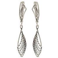 Серебряные серьги 1100252