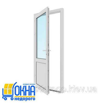 Пластиковая входная дверь 900*2050, фото 2