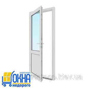 Пластиковая входная дверь 900*2050
