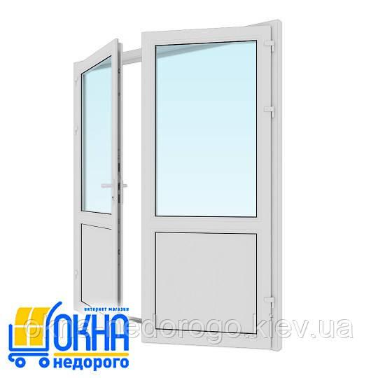 Металлопластиковая входная дверь 1800*2050 мм