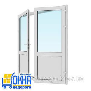 Металопластикові вхідні двері 1800*2050