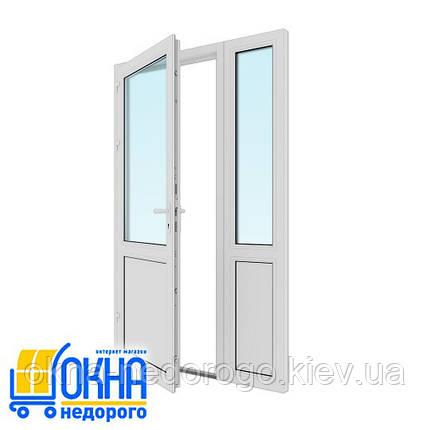 Входная пластиковая дверь 1300*2050, фото 2