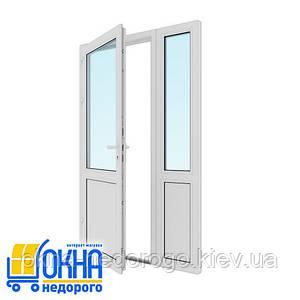 Входная пластиковая дверь 1300*2050