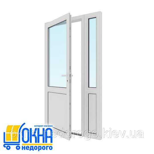 Пластиковые межкомнатные двери 1200х2050