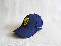 Бейсболка Porsche реплика синяя унисекс ультрамодная  / кепка с логотипом порше