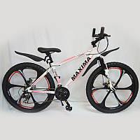 """Велосипед гірський 26"""" MAXIMA-TOMMY White, фото 1"""