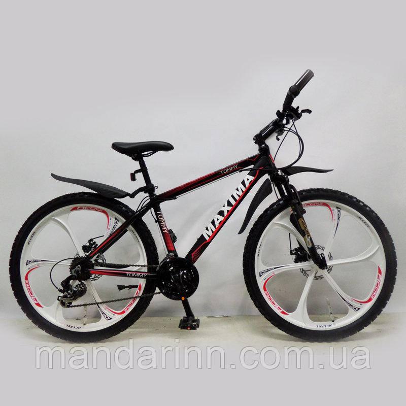 """Велосипед горный 26"""" MAXIMA-TOMMY Black"""