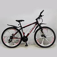 """Велосипед горный 26"""" MAXIMA-TOMMY Black, фото 1"""