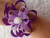 Браслеты для подружек невесты с одной розой