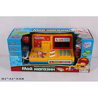 Детский кассовый аппарат со сканером 7253
