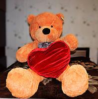 Карамельный плюшевый медведь 160 см