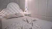 Льняное постельное белье (оршанский лен)  Двуспальный Евро 200х220, фото 1