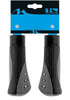 Гріпси M-Wave Ergo Grip 112мм чорни-сірий (C-C-0161)