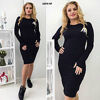 Женское платье батал 5004 НР Код:651296277